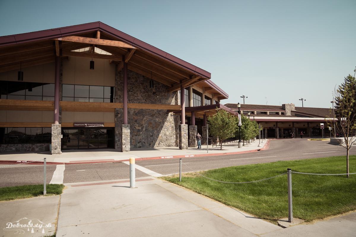 letisko Bozeman Yellowstone International