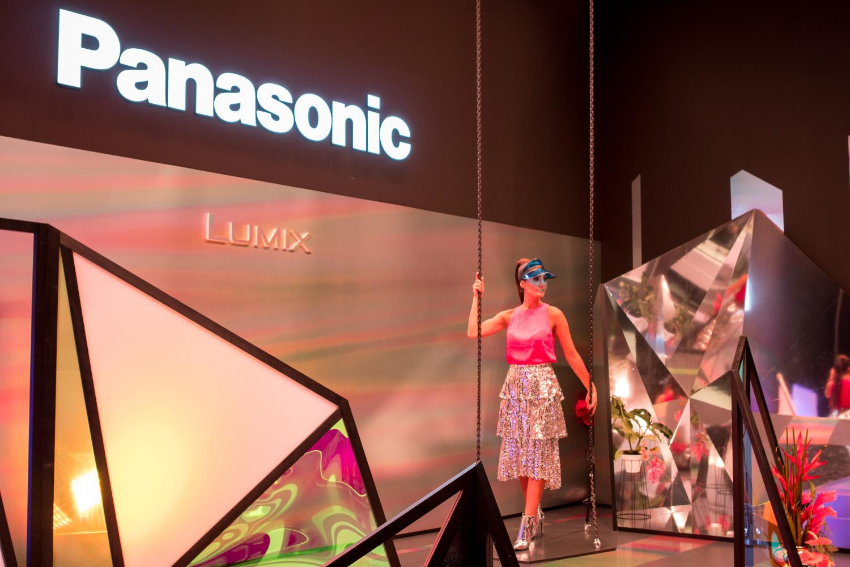 stánok Panasonic