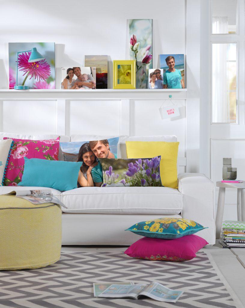 dekoracia, fotostena, CEWE fotoobraz